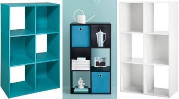 Room Essentials 6 Cube Organizer ONLY $23 Shipped From Target!