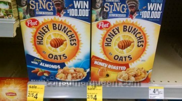 Honey Bunches of Oats As Low As 72¢ at Walgreens Next Week