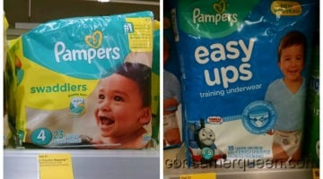 Pampers $5.56 at Walgreens