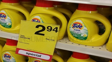 Tide Simply Clean Detergent & Fresh ONLY $1.97 at CVS!