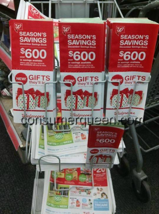 Walgreens December Savings Book
