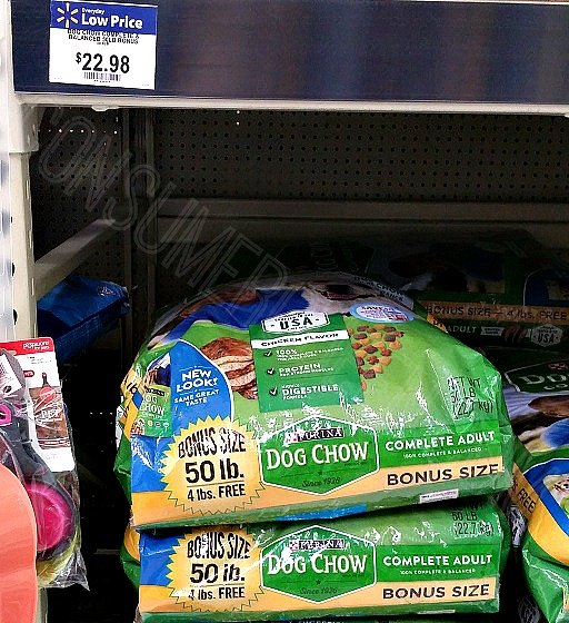 Dog Chow 50 Lb Bag Only 17 98 At With New Coupon