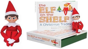 the elf on the shelf a christmas tradition only. Black Bedroom Furniture Sets. Home Design Ideas