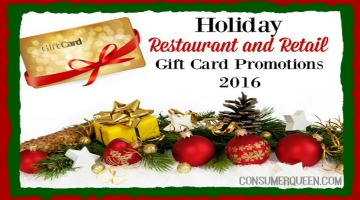 CQ Holiday Gift Card Promotions Round-Up 2016