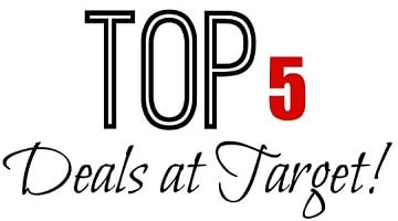Five HOT Target Deals You Don't Wanna Miss This Week!