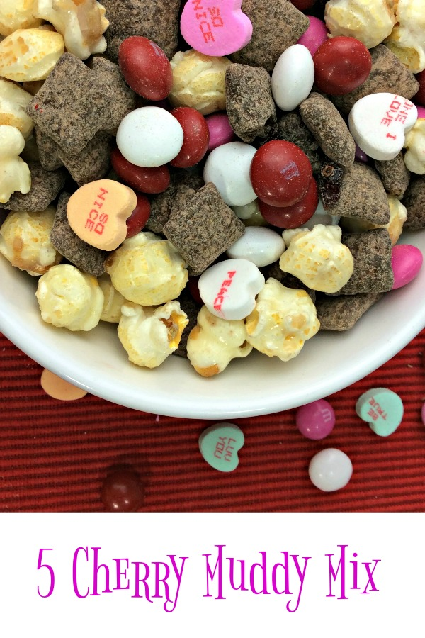 5 Cherry Muddy Mix Pinterest