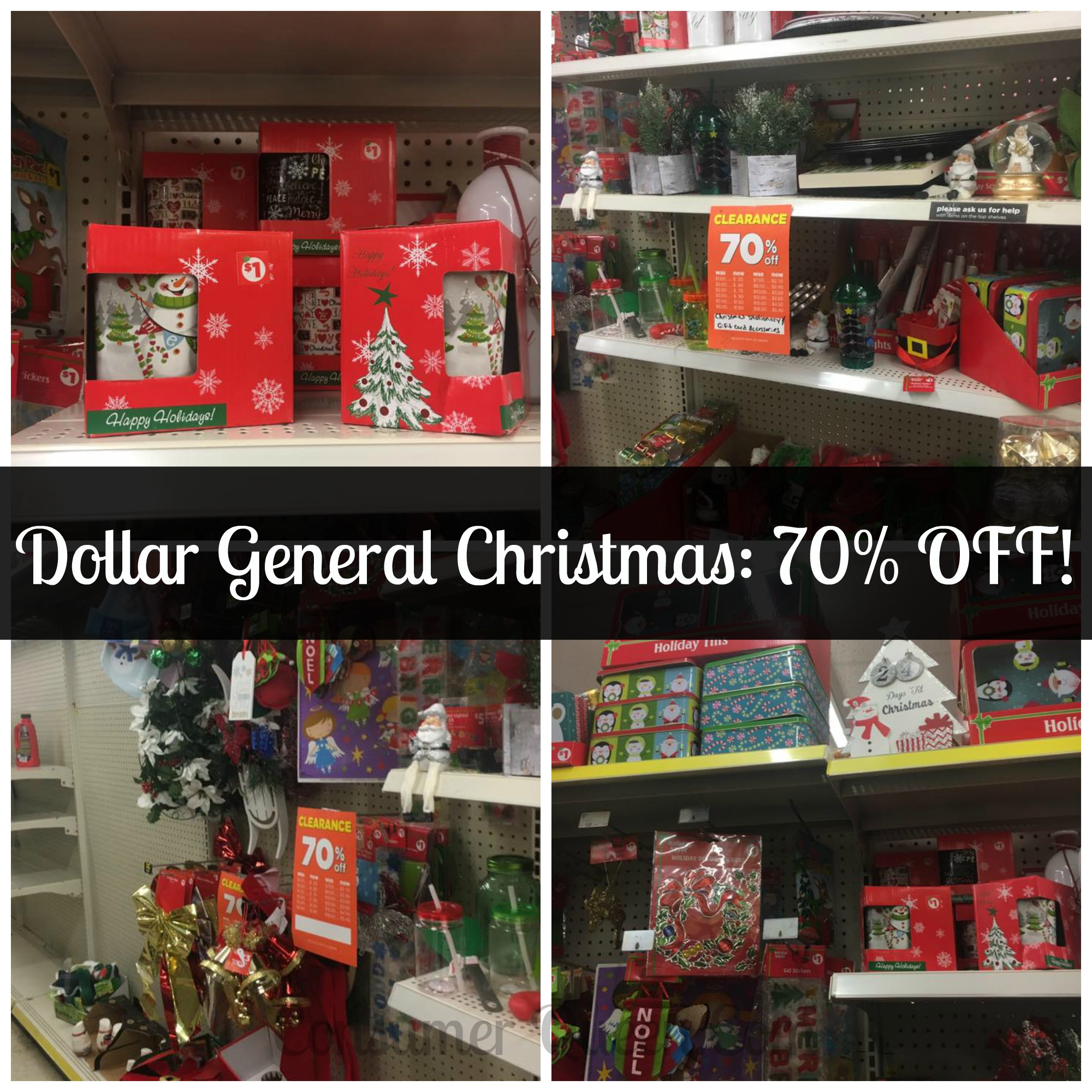 Dollar General Christmas Clearance 1/13