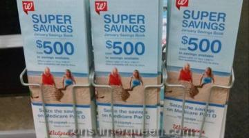 January Savings Book for Walgreens