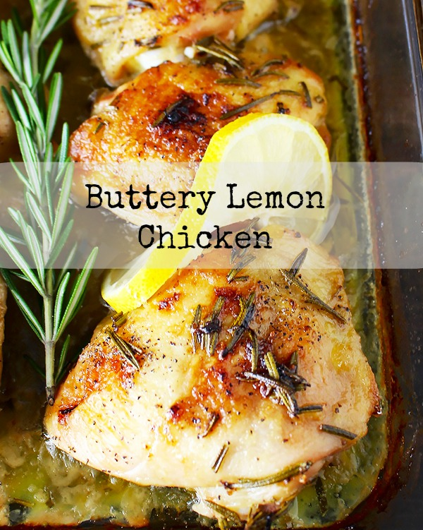 Lemon Ghee Chicken