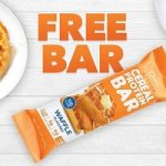 FREE Quest Waffle Cereal Bar In-Store Today ONLY at GNC!