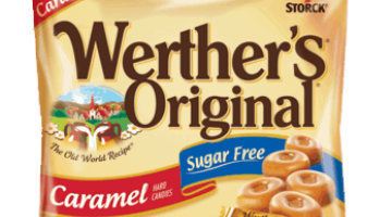 Werther's Sugar Free Candy 95¢ at Walgreens
