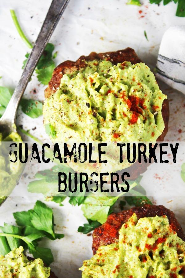 guacamole turkey burgers