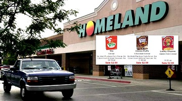 GM Cereals ONLY $1.00 at Homeland & Country Mart!