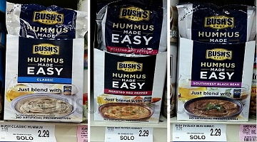 Hummus Made Easy 29¢ at Homeland & Country Mart!