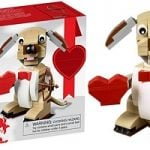 LEGO Valentine's Cupid Dog ONLY $9.99 at Amazon & Walmart!
