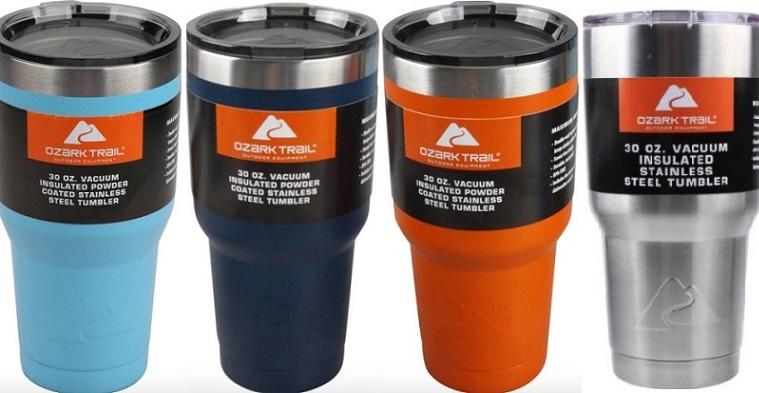4e2cac050ca Ozark Trail Double-Wall Vacuum-Sealed Tumbler $7.74!