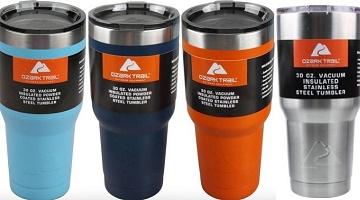 Ozark Trail 30-oz. Double-Wall Vacuum-Sealed Tumbler $9.74!
