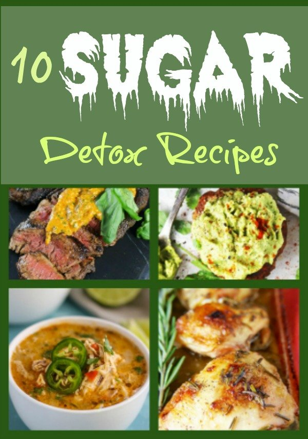 sugar detox collage