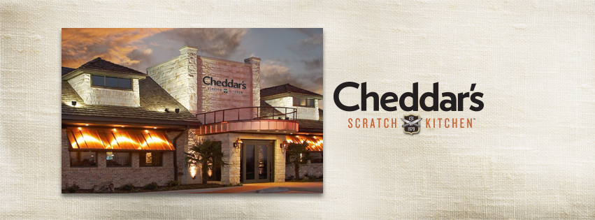 Scratch Kitchen, and I have partnered with Cheddar's Scratch Kitchen