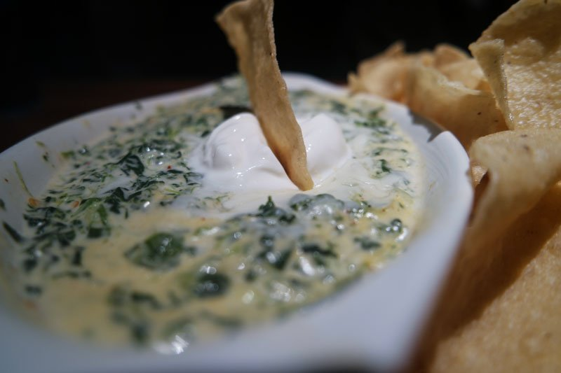 Cheddars Spinach Dip