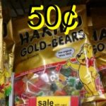 Haribo Gummy Candy 50¢ at Walgreens