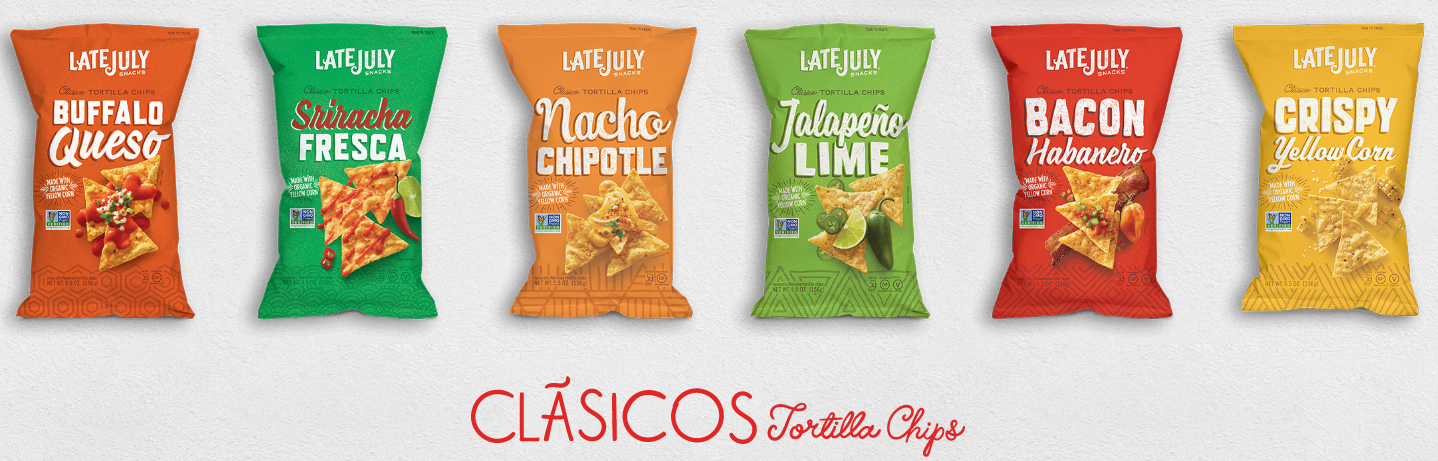 New Late July Organic Chips Coupon