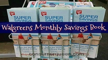 Walgreens Monthly Savings Booklet – April 2017