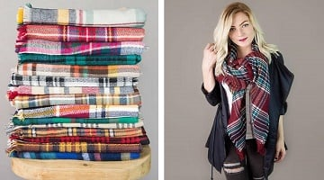 Blanket Scarves 9.99 Shipped From Cents of Style – Today Only!