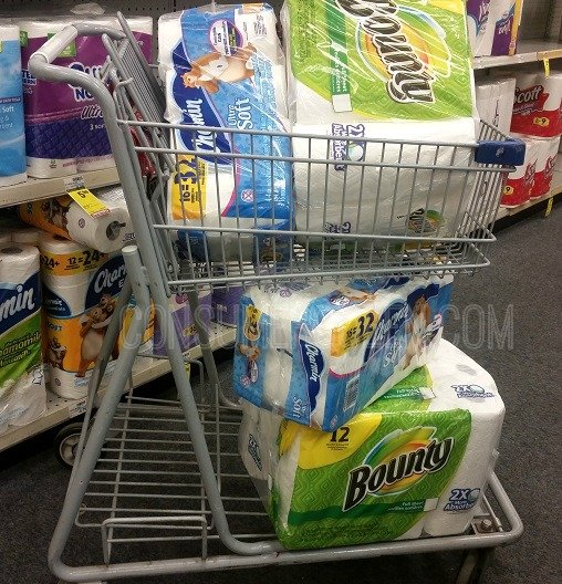 Bounty Paper Towels Cvs: CVS: Charmin Bath Tissue & Bounty Paper Towels For Cheap
