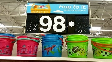 CHEAP Easter Baskets From Walmart That Can Be Re-Purposed!