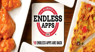 HOT!! $10 Endless Appetizers are Back for Good at TGI Fridays!