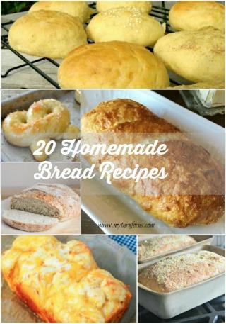 20 Homemade Bread Recipes