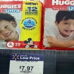 Huggies Snug & Dry Diapers ONLY $4.97 at Walmart!