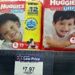 Huggies Jumbo Pack Diapers as Low as $4.97 at Walmart & Target!
