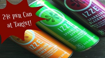 TWENTY Cans of Izze for Only $4.70 at Target (Starts 2-26!)