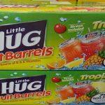 Little Hug Fruit Barrels 20-pk $2.48 at Walmart (12¢ per drink!)