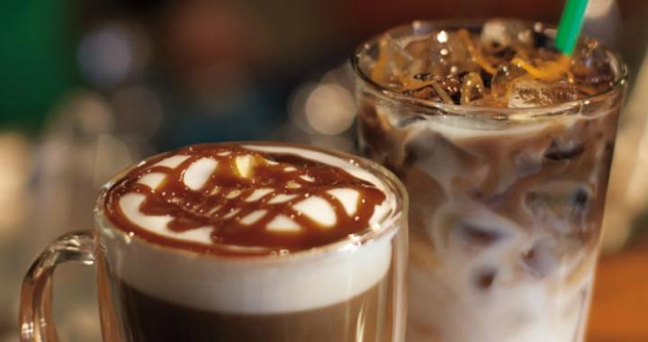 Starbucks Happy Hour :50% Off Grande Latte or Macchiato Today!