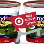 Save Over 50% On Stonyfield Organic Yogurt at Target (ONLY $1.70/Quart!)