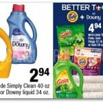 HOT Tide Detergent, Gain & Downy Deals at CVS (Starts 2-19)