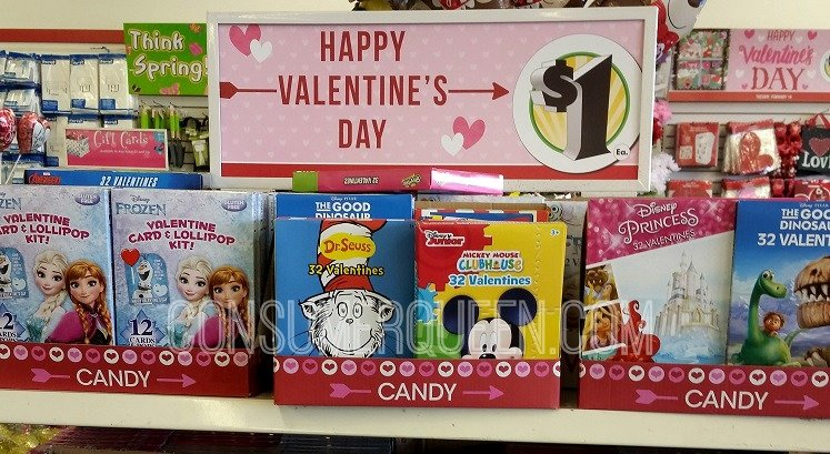 Shopping Dollar Tree For Valentines Day