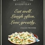 Celebrate the Everyday with P.F. Changs & Bertolli Meals at Home!