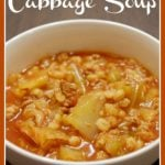 Crock Pot Cabbage Soup