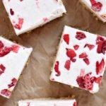 Strawberry Ice Cream Bars Featured