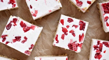 Strawberry Ice Cream Bars Featured