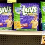 Great Price on Luvs Diapers at Walmart, Target & Crest Foods!