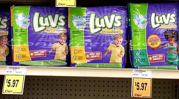 Luvs Diapers: Walmart, Target, Crest Foods (as low as $3.97!)