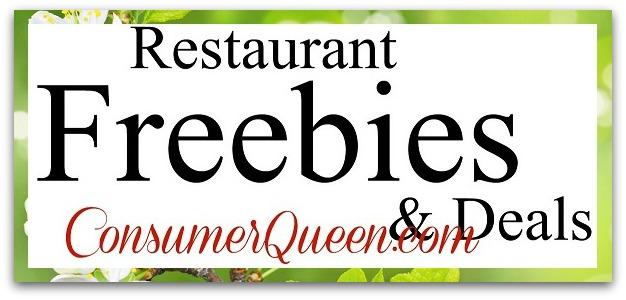 Restaurant Freebies and Deals 5/5
