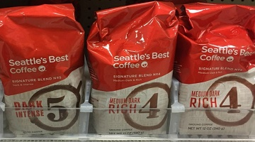 Seattle's Best Coffee 12-oz. Bag ONLY $1.23 at Target!
