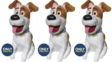 The Secret Life of Pets Max Plush Toy Only 99¢ at Best Buy!