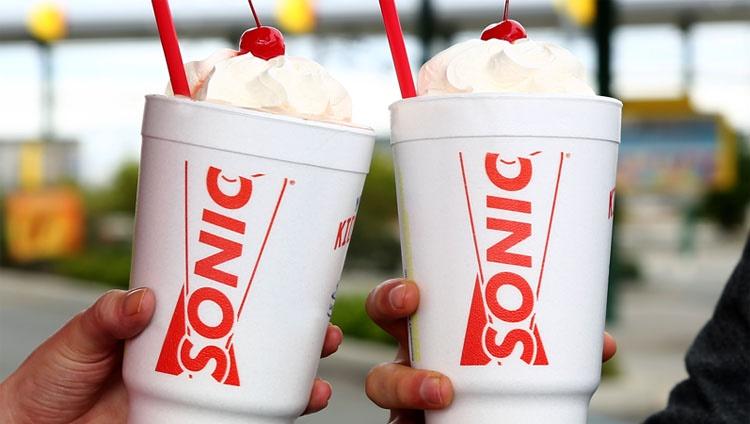 half price sonic shakes